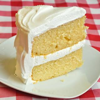 Marshmallow Vanilla Cake Recipes.