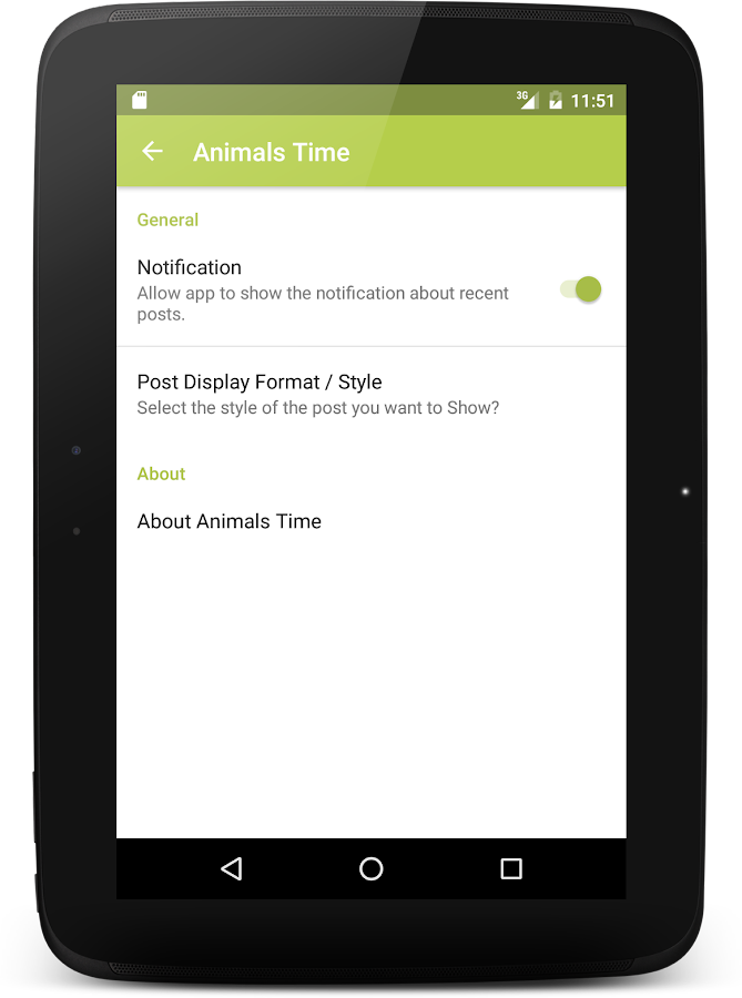 Animals Time: Encyclopedia- screenshot