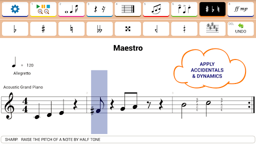 Maestro - Music Composer - screenshot