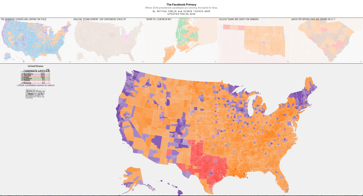 Mapping the Electorate - Liveblog from #PoliticalAnalytics2016