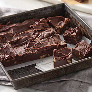 Foolproof Chocolate Fudge.