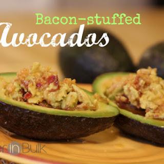 Bacon Stuffed Avocados #AvocadoBowl