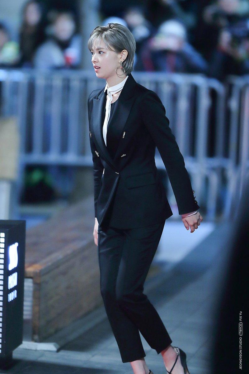 jeongyeon suit 9