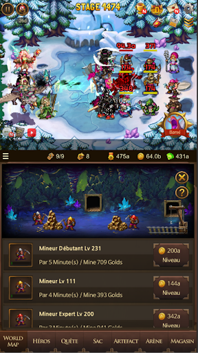Télécharger Everybody's RPG APK MOD (Astuce) screenshots 4