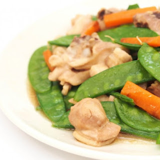 Chicken and Pea Pod Stir-Fry Recipe