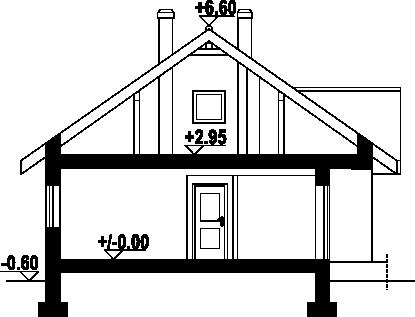 Bolesławice 3m - Rzut poddasza