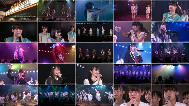 [TV-Variety] AKB48 研究生「パジャマドライブ」公演 古川夏凪 生誕祭