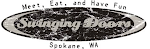 Logo for The Swinging Doors