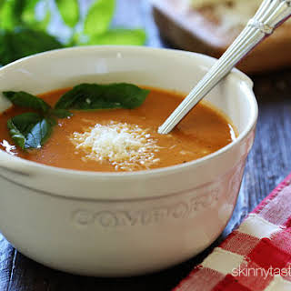 Crock Pot Creamy Tomato Soup.
