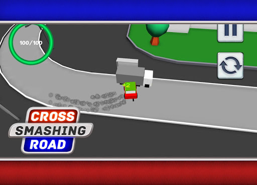 Cross Smashing Road