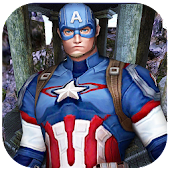 Captain Super Soldier Hero Run