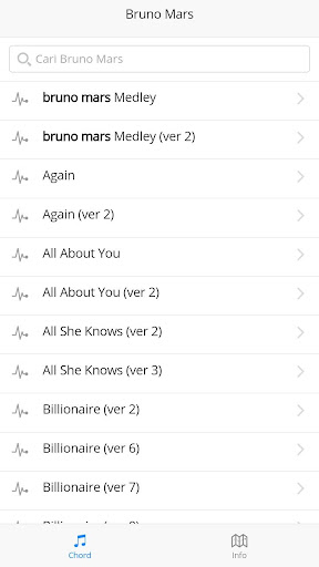 Bruno Mars Guitar Chords