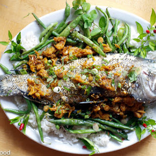 Orange Ginger Sea Bass