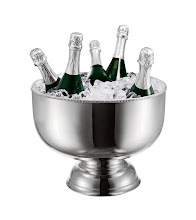 Photo: HOTEL Exclusively ours. An extensive collection of vintage and classic silver- plated tureens, punch bowls and inverted domes, all used as champagne and wine chillers. $1,095–$3,500. England. Seventh Floor. 212 872 2686