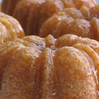 Vanilla Bean Butter-Rum Poundcakes