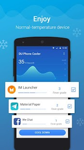 DU Phone Cooler & Cool Master- screenshot thumbnail