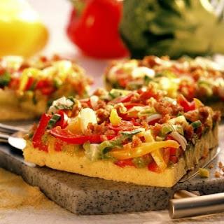 Veggie Polenta Pizza