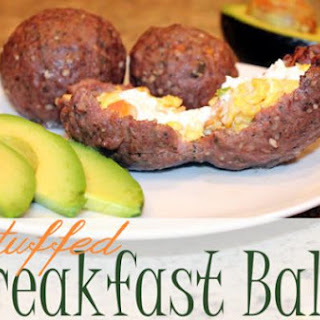 Stuffed Breakfast Balls