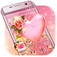 Download Pink Rose Heart Theme For PC Windows and Mac