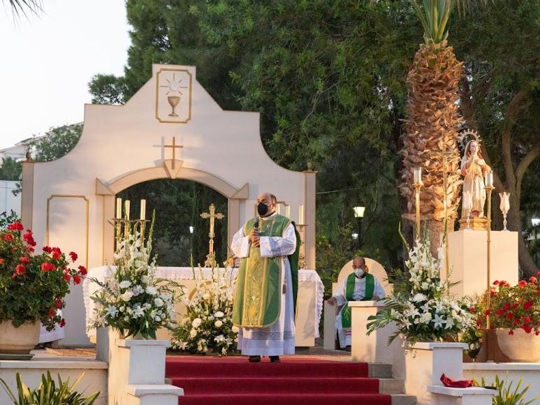 Don Ramón Garrido presidió su última misa en la parroquia de Aguadulce el sábado 18 de septiembre.