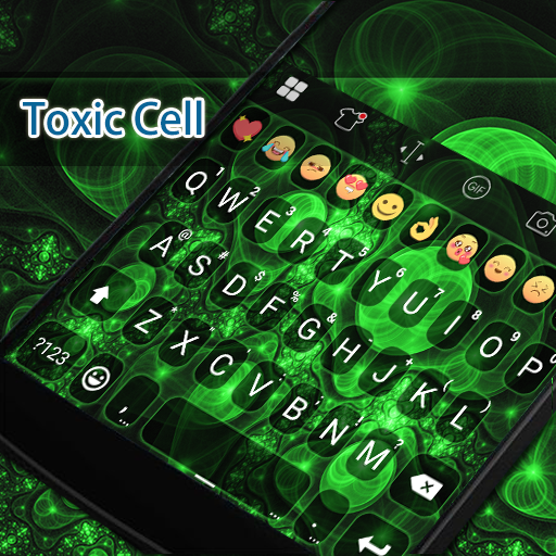Toxic Deadly Keyboard -Diy Gif 遊戲 App LOGO-硬是要APP