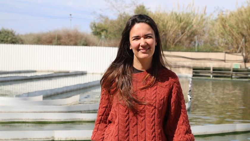 Marta Barceló, en la UAL