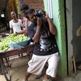 by Santosh Pandey - People Street & Candids ( vivek desai, photographer, taking photos, pwc75 )