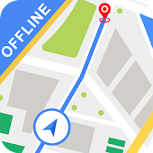 Offline Maps & Navigation : GPS Route Finder