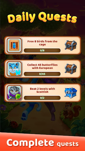 Cat Heroes: Puzzle Adventure 44.3.2 screenshots 6
