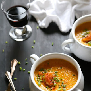 Shrimp Po' Boy Carrot Cajun Soup