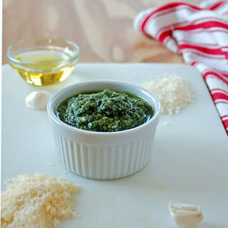 Mom's Pesto with Pecorino Romano