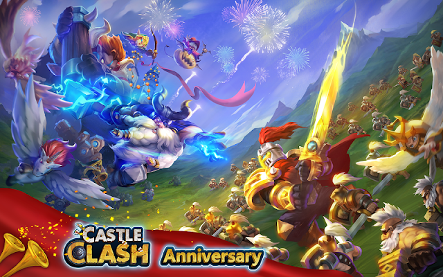 Castle Clash: Anniversary Party - screenshot