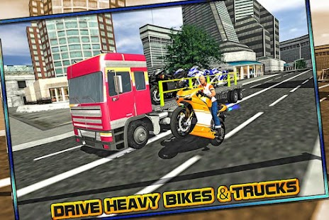 Bike Transporter Big Truck screenshot
