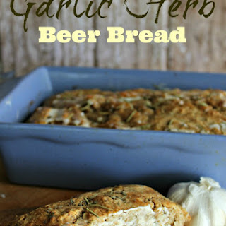 Garlic and Herb Beer Bread