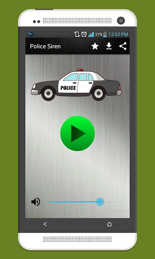 Police Siren Sound