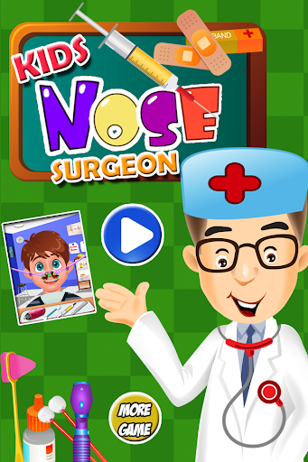 Nose Surgery Games for kids