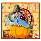 Thanksgiving Thanks Keyboard Theme