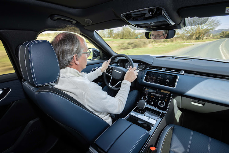 Inside the changes to the Velar are focused more on reducing noise and increasing connectivity.