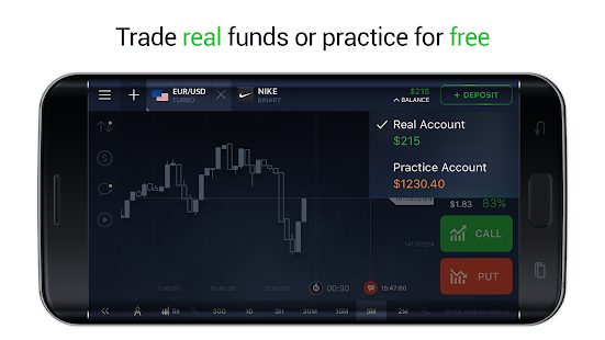 IQ Option - Binary Options- screenshot thumbnail