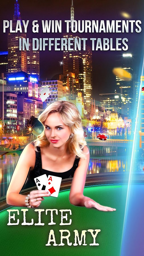 Texas Holdem Online Poker by Poker Square- screenshot