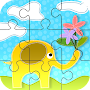 Animals Cartoon Jigzaw Puzzle  Game for Kids APK icon