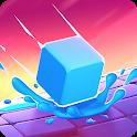 Splashy Cube: Color Run icon