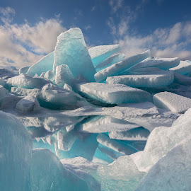 The Fortress of Solitude by Andy Taber - Landscapes Waterscapes (  )