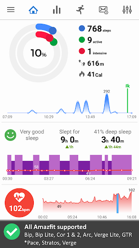 Notify & Fitness for Amazfit 8.14.2 screenshots 1