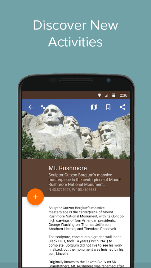 Mount Rushmore NM by Chimani- screenshot