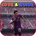 all codes pes 17 icon