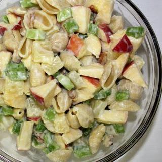 Waldorf Pasta Salad w/Pineapples.