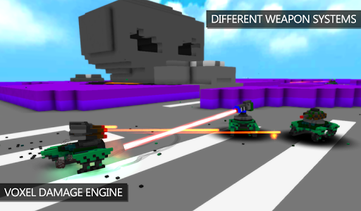 Blocky War Machines