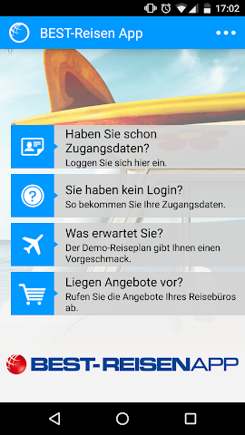 android BEST-Reisen App Screenshot 4