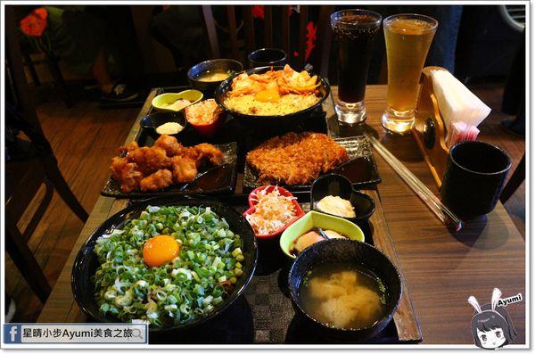 新丼創意丼飯專賣店/韓美新丼/衝動-蔥丼/酸甜糖醋炸雞/無敵炸豬排